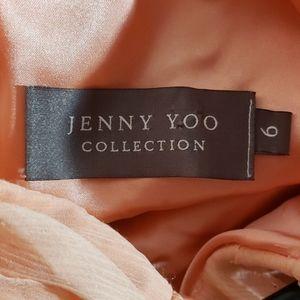 Jenny Yoo Dresses - Jenny Yoo beautiful size 6 light peach dress